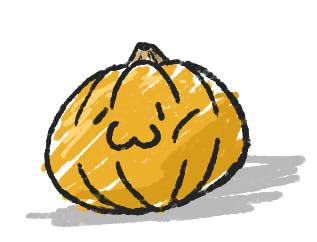 普通のかぼちゃっそり