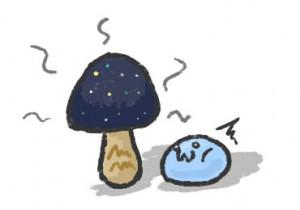 宇宙(ソラ)色の茸か!?
