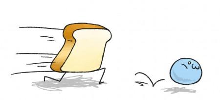 いやぁああああああああ食パンいやあああああ
