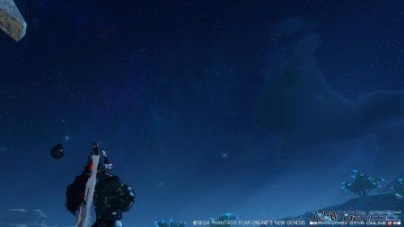 写ってないが、ステラーギフトがよー落ちるだけあって流星が多い